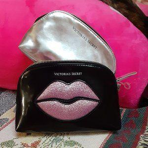 Pair Of Victoria's Secret Makeup Bags